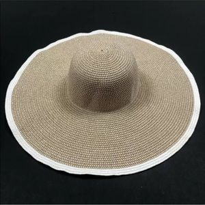 Nordstrom Rack floppy wide brim hat gold beach OS